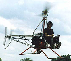 Homebuilt Ultralight G-1 Helicopter