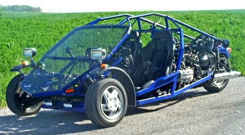 Vortech Products: Xzilarator High-Performance Trike Plans