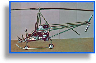 Choppy Homebuilt Helicopter