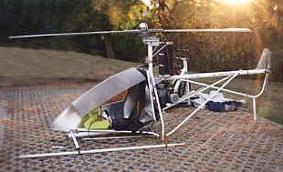 Как сделать вертолет на одного