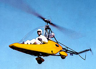Safari helicopter. Home built helicopter CHR Canadian Home Rotors