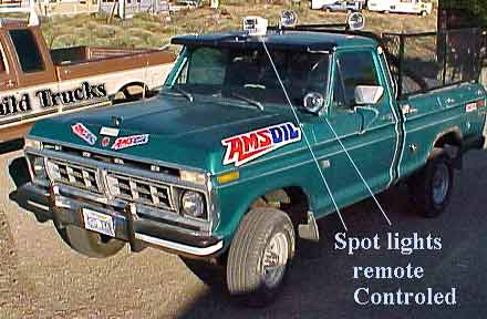 Ford f100 pickup truck 1976 ford f100 pickup new 390ci engine 4 speed with two pto plates 4x4 411 gears 33 inch tires cd light bar in bed 2 remote controled spotlights aloadofball Gallery