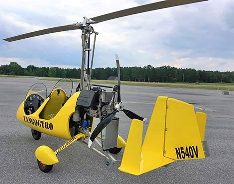 Tango-2 Mark-II 2-Place Gyroplane